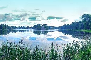 Big Lake in Catherine Park