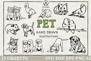 Pet Illustration Pack