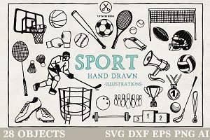 Sport Illustration Pack