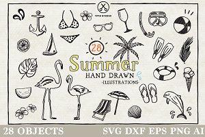 Summer Illustration Pack