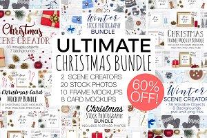 Ultimate Christmas Branding Bundle