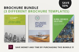 3 Creative Brochures - Bundle