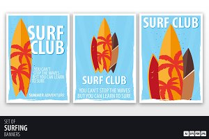 Surf Club Posters