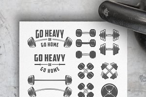 Gym equipment design elements