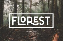 The Florest Typeface by  in Sans Serif Fonts