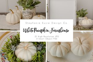White Pumpkin Farmhouse Bundle