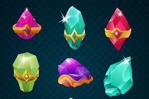 9 magic energy gemstones
