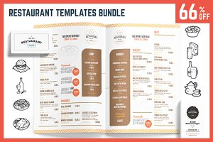 Restaurant Templates Bundle