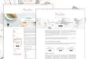 Olivia · Feminine Blog & Shop Theme