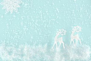 christmas background with decorative