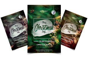 Merry Christmas - PSD Flyer Template