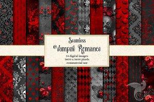 Vampire Romance Digital Paper