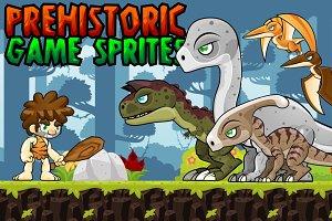 Prehistoric Game Sprites