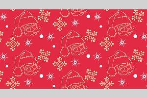 Christmas, seamless pattern