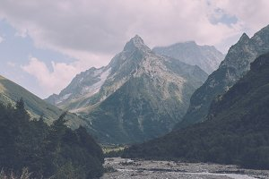 Valley of Mountains, Russia