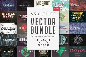 Vector Bundle 650+ Textures & Shapes