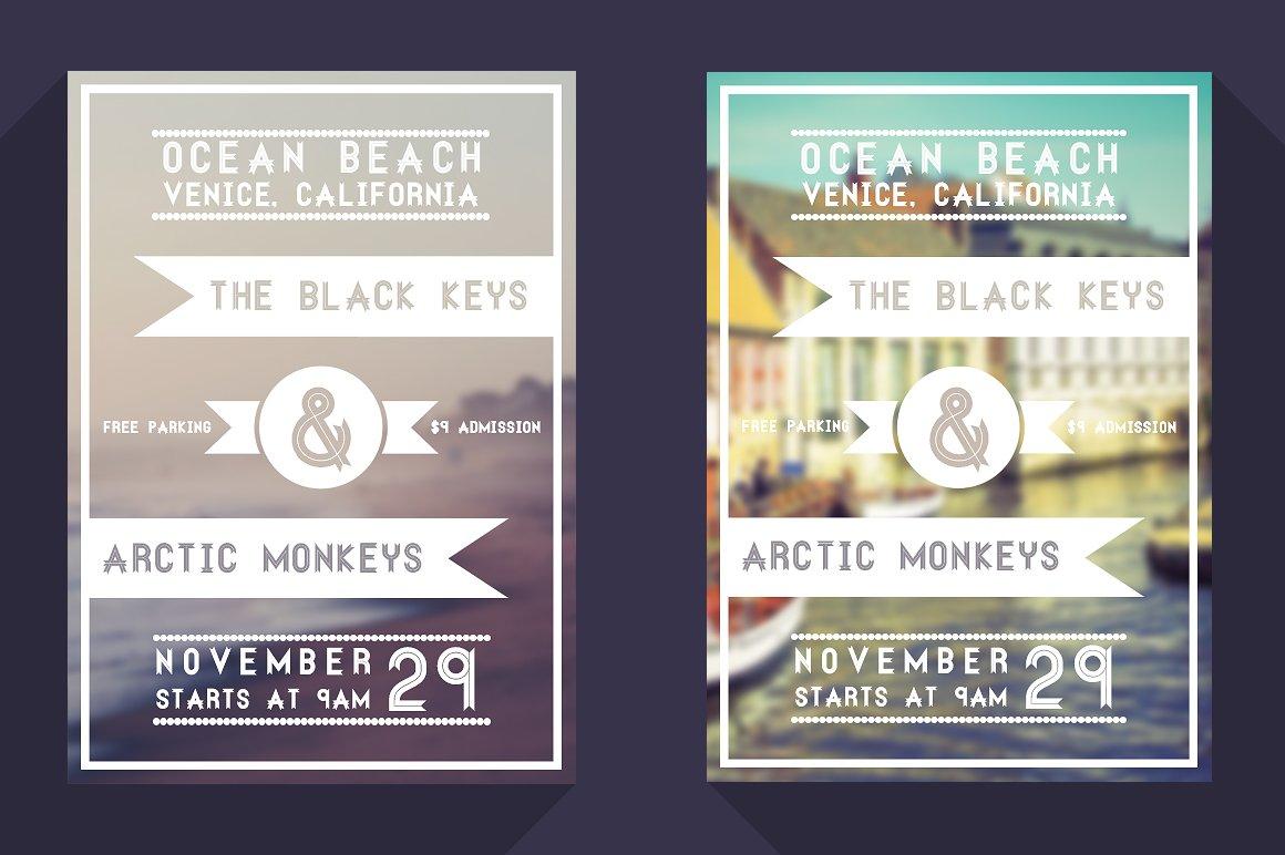 minimal event flyer flyer templates creative market