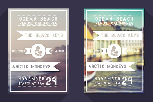 Minimal Event Flyer Flyer Templates on Creative Market – Event Flyer