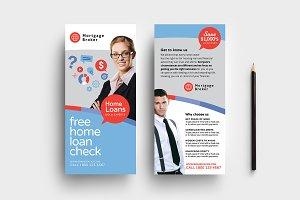 Corporate DL Card Template