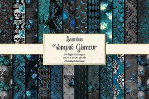 Vampire Glamour Digital Paper