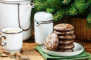 Delicious gingerbread cookies