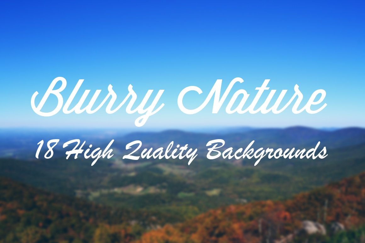 Blurry Nature Backgrounds ~ Textures ~ Creative Market