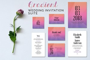 Gradient Wedding Suite