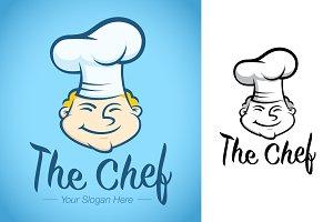 Chef Logo Template For Restaurant