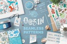 Ocean Seamless Patterns Pack