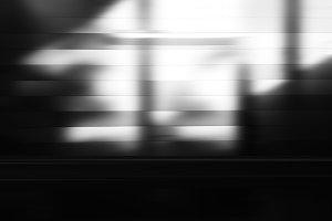 Diagonal black and white light leak