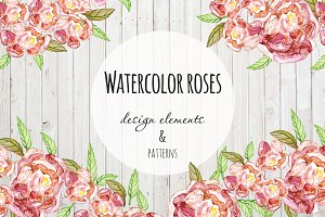 Flower patterns & design elements