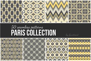 50 Seamless Patterns (EPS, JPG)