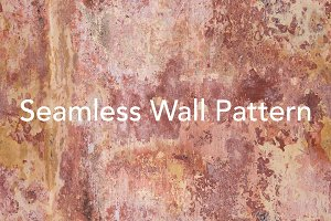 Tileable Seamless Pink Wall Texture