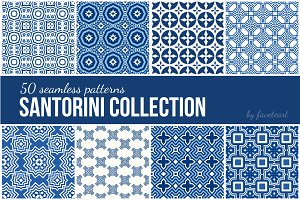 50 Seamless Patterns EPS+JPG