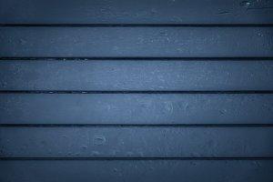 Navy Blue Wood