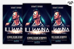 ILLUMINA Flyer Template