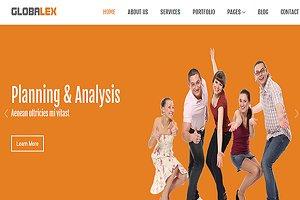 Globalex- Responsive Html Theme