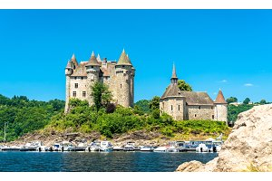 The Chateau de Val, a medieval