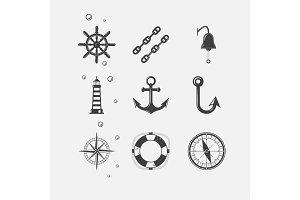 Sea Black Icon