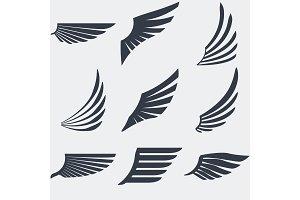 Vintage emblem set