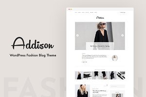 Addison - A Personal Blog Theme