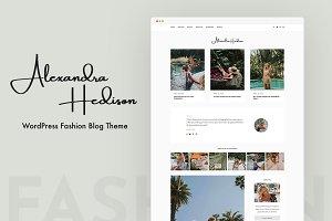 Alexandra - A Life Style Blog Theme