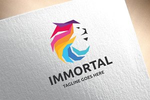 Immortal Lion Logo