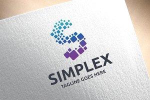 Letter S - Simplex Logo