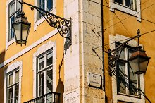 Lisbon Street Corner  by  in Architecture