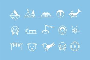 15 Arctic Icons
