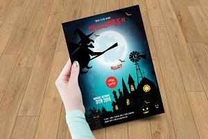 Halloween Party Flyer - V01