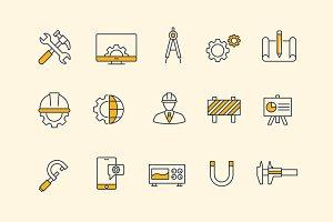 15 Engineering Icons