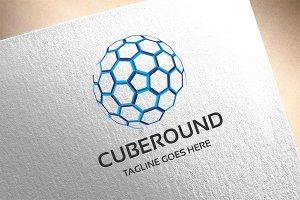 Cube Round Logo
