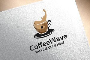 Coffee Wave Logo